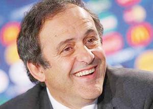 Euro-2012 : Platini en Ukraine pour inspecter l'état des préparatifs