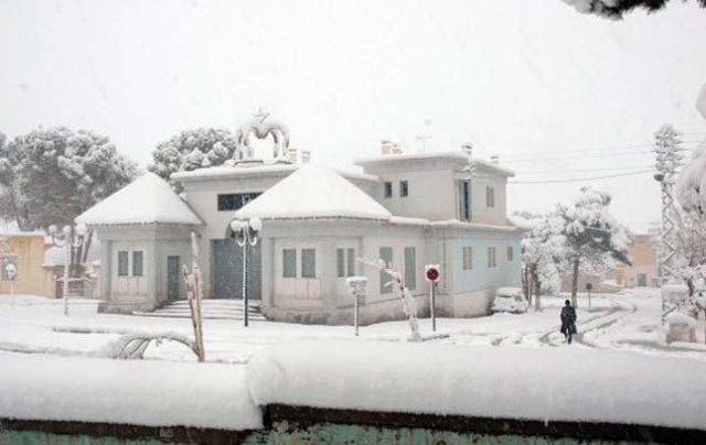 Chutes de neige: des routes fermées à la circulation dans les provinces de Khenifra et Midelt