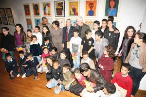 Soixante-dix élèves exposent à l'espace d'Art Actua d' Attijariwafa bank