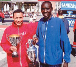 Fatri, un amoureux du marathon