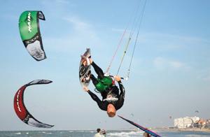 Les meilleurs sportifs du monde à Essaouira