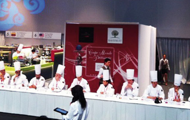 Le Maroc au Mondial de la pâtisserie à Lyon