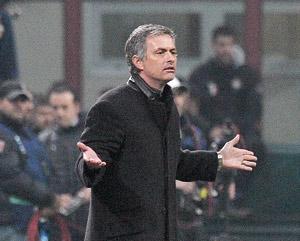 L'Inter de Mourinho aux quarts de final
