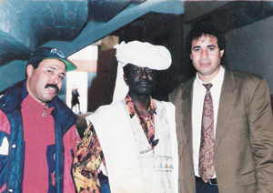 Mahmoud, le supporter sahraoui des Lions de l'Atlas