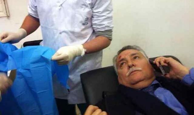 Nabil Benabdellah, victime de jets de pierre lors de sa tournée dans le Sud
