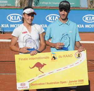 Kia Amateur Australian Open 2008 : Lalami et Chaki à la grande finale