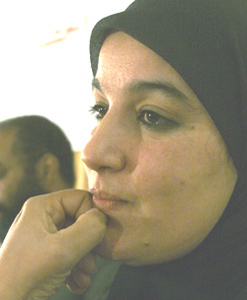 Nadia Yassine fait son show
