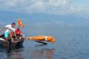 Insolite : il nage 2 km enfermé dans un sac pour entrer dans le Guinness des records