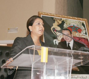 Nawal El Moutawakil affiche ses ambitions