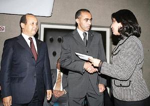 Jawad Gharib reçoit une récompense de 750 mille DH