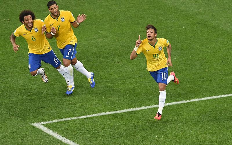 Coupe du monde 2014 :Neymar porte le Brésil