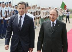 Voyage à haut risque de Nicolas Sarkozy en Algérie