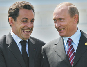 France : Première visite à hauts risques de Nicolas Sarkozy à Moscou
