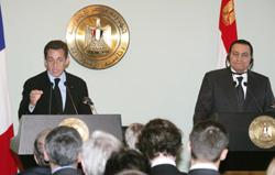 Sarkozy muscle son discours sur le Proche-Orient