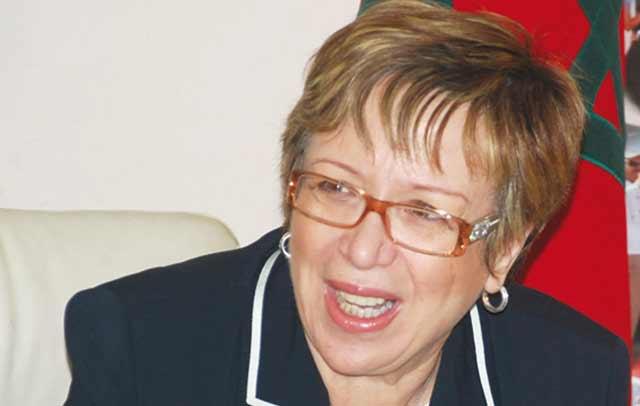 Nouzha Skalli faite Chevalier de la Légion d Honneur