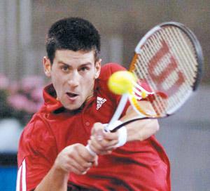 Première demi-finale pour Novak Djokovic