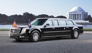 La «bête» d'Obama fait tache face aux voitures électriques