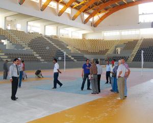 Infrastructures sportives à Tanger : La nouvelle salle omnisports sera livrée mi-septembre