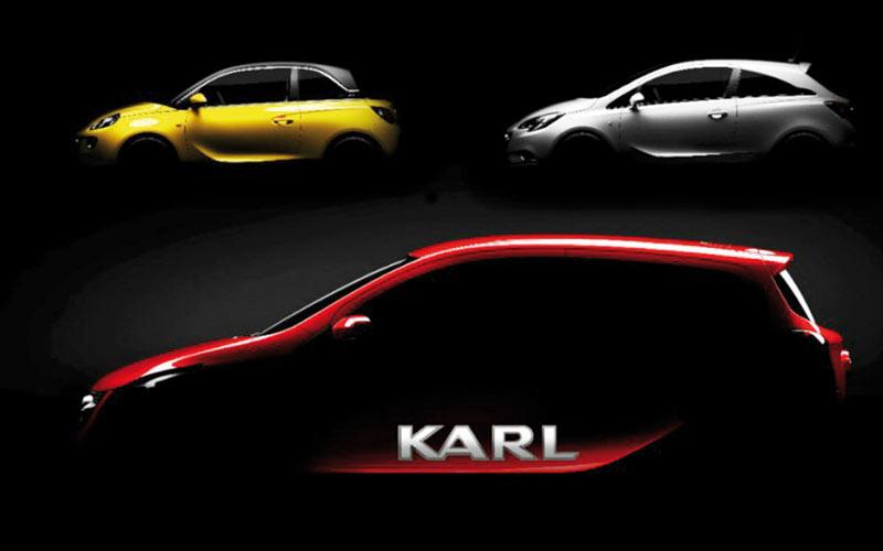Opel Karl : Une arrivée  programmée en 2015