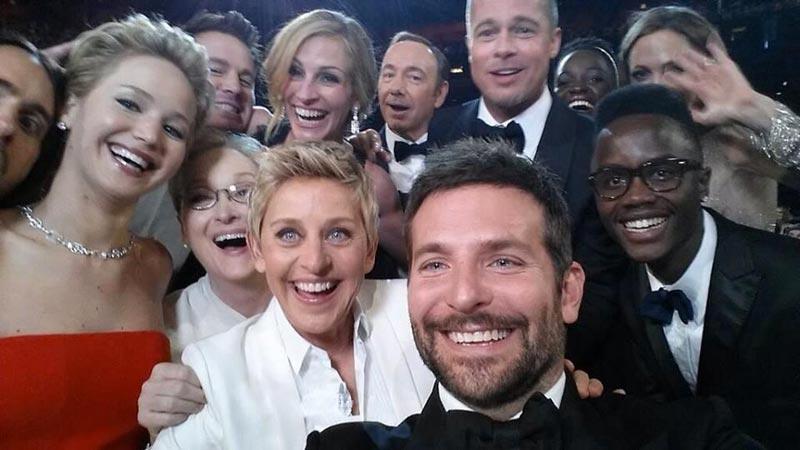Un selfie des Oscars écrase la réélection d'Obama sur Twitter