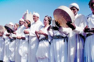 Ouarzazate, capitale d'Ahwach