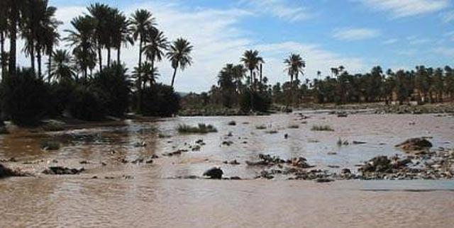 Al Haouz: deux portés disparus suite au débordement d'Oued El Bahja
