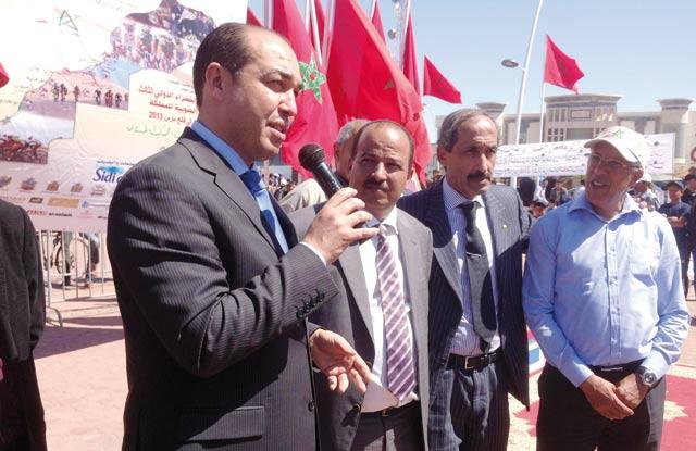 Provinces du Sud : Ouzzine au chevet de la jeunesse sahraouie