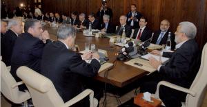 La majorité se concerte sur le projet de loi de Finances