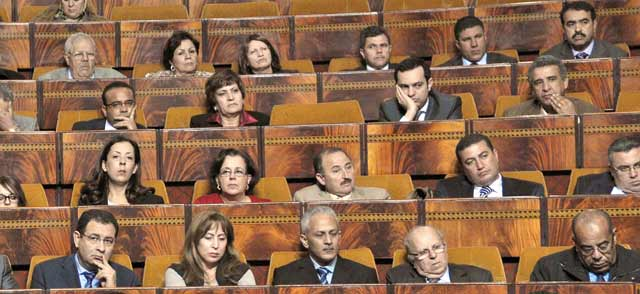 En rangs  dispersés, l'opposition  n'arrive pas à s'imposer