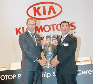 Kia motors corporation roule pour l'EURO 2008