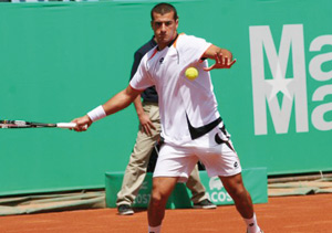Grand Prix Hassan II de tennis : Réda El Amrani qualifié au deuxième tour