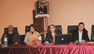 Tadla-Azilal : une formation pour les conseillères de commune
