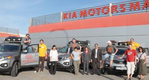 «Road to South Africa» : le gros challenge du Kia Sorento