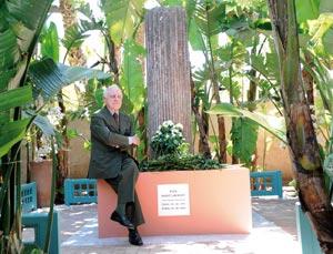 Les cendres d'Yves Saint Laurent dispersées à Marrakech