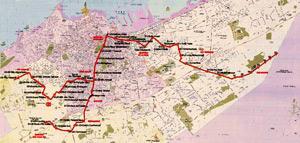 La ligne du tramway entame sa première phase