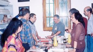Tanger : des ateliers pour amateurs et artistes plasticiens