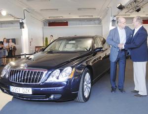 Automobile : Une Maybach Saloon pour SM le Roi Juan Carlos 1er
