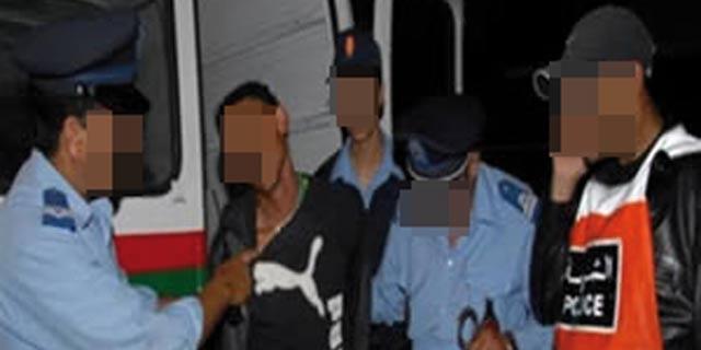 Arrestation de 39 malfrats  et saisie de 40 maxi-scooters,  en une nuit à Casablanca