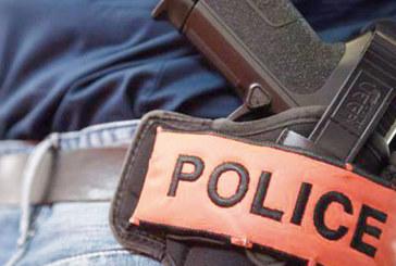 Oujda : Un policier contraint de faire usage de son arme de service pour neutraliser un multirécidiviste