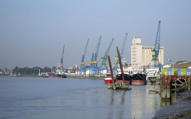 Requalification du port de  Kénitra