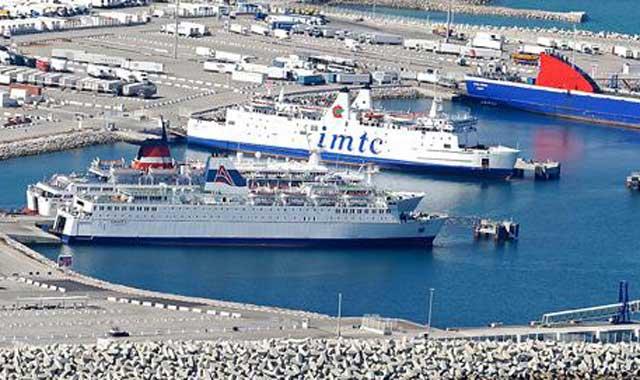 Intempéries : Perturbation du trafic au port Tanger Med