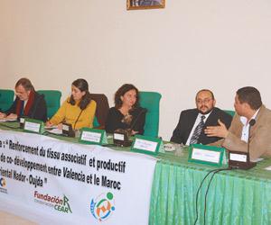 Nador : Rencontre mixte pour la réalisation d'actions de co-développement