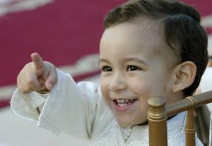 Le Prince héritier du Royaume célèbre ses 7 ans