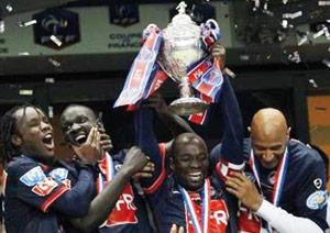 Le PSG s'adjuge la huitième coupe
