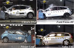 Euro NCAP : 5 étoiles pour six nouveautés