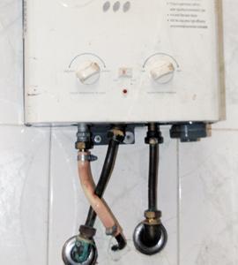 Chauffe-eau à gaz : les nouvelles mesures