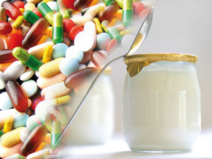 faut-il prendre un Yaourt en même temps que les antibiotiques ?