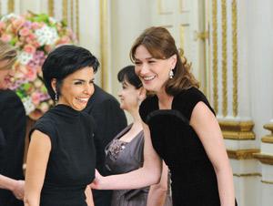 Rachida Dati, la redoutable «amie» de Carla Bruni Sarkozy