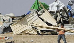 Néguev : la police israélienne rase un village bédouin