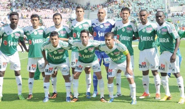 Le Raja en amical contre Getafe en Janvier à Casablanca